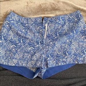 Blue shorts!
